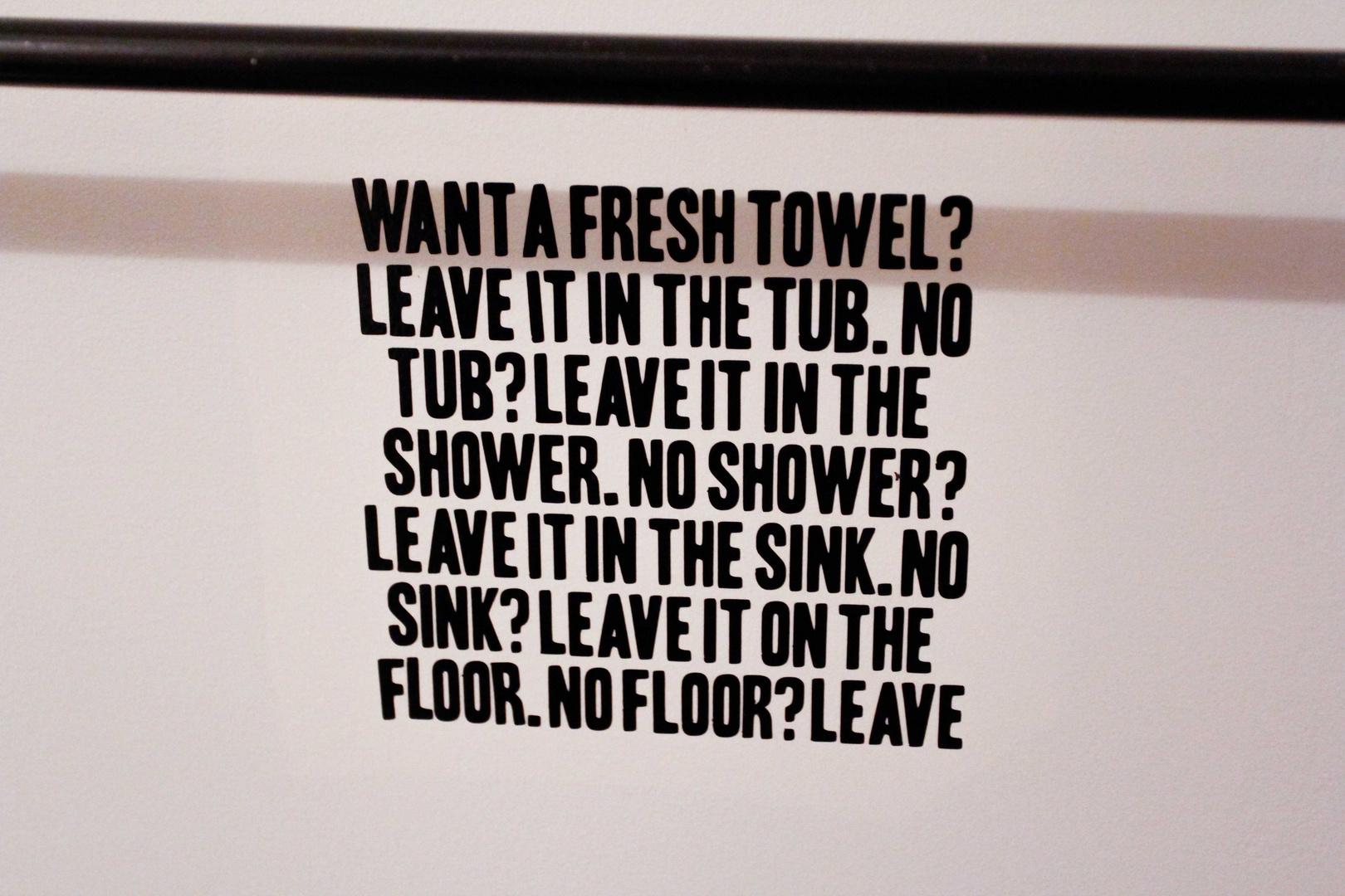 Im Hotel, New-York