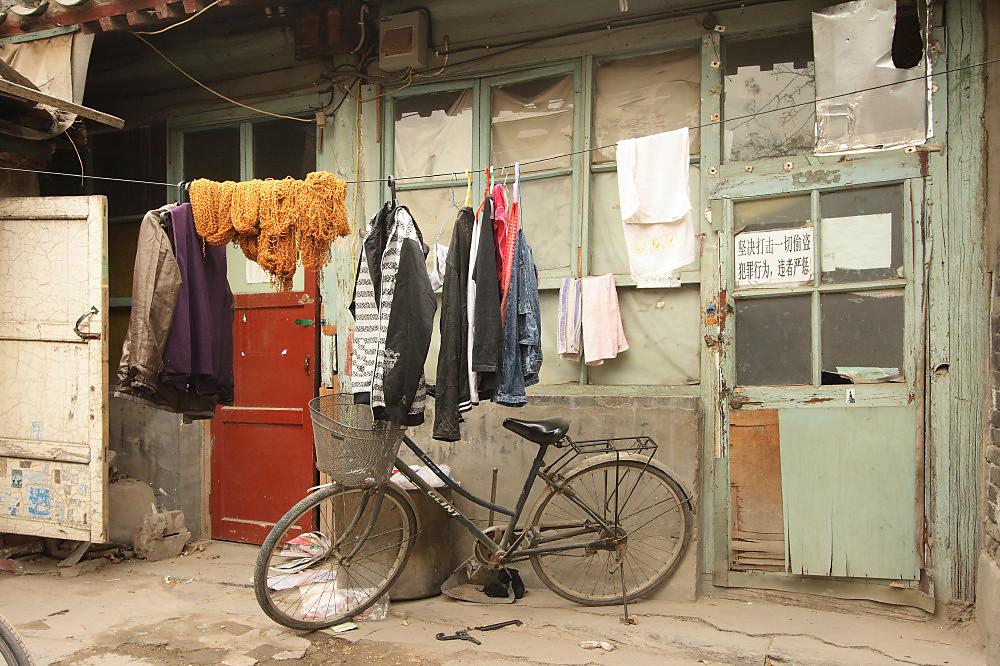 Im Hutong in Peking in Farbe