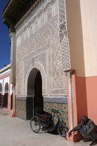 Im Innenhof der Zaouïa Sidi Bel Abbès