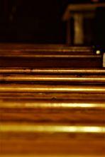 im Innenraum einer Kirche