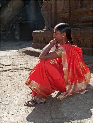 im Kailash-Tempel