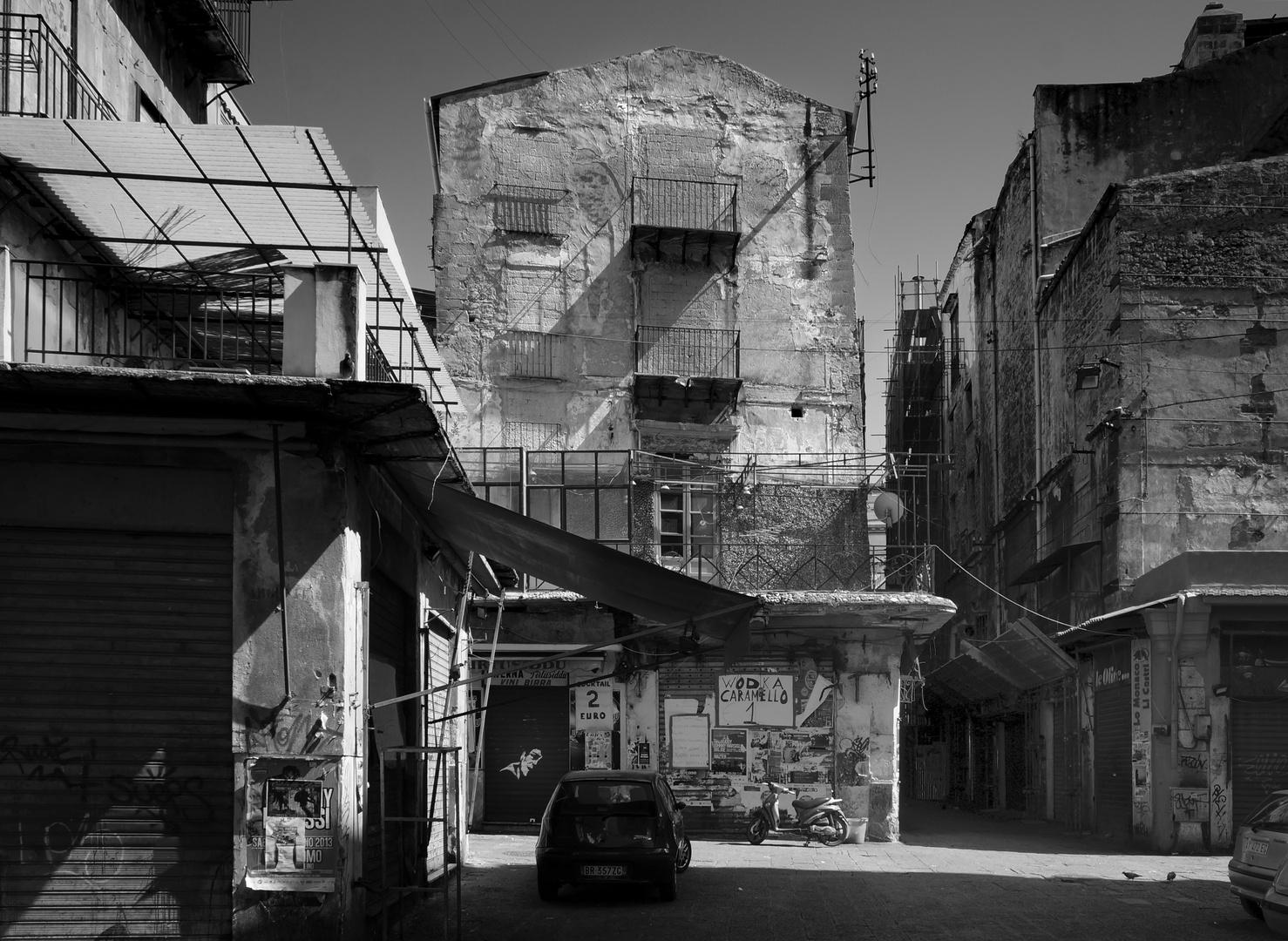 Im Kalsa-Viertel in Palermo