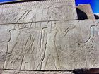 im Karnak-Tempel, Luxor