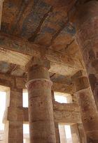 im Karnak-Tempel von Luxor