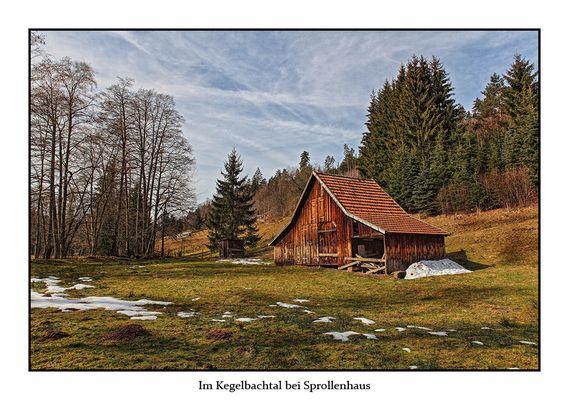 Im Kegelbachtal bei Sprollenhaus