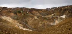 Im Kerlingafjöll-Gebirge