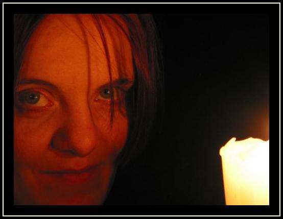 im Kerzenschein ...