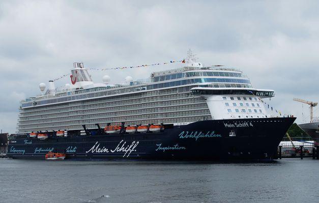 Im Kieler Hafen gibt es immer etwas zu entdecken ...