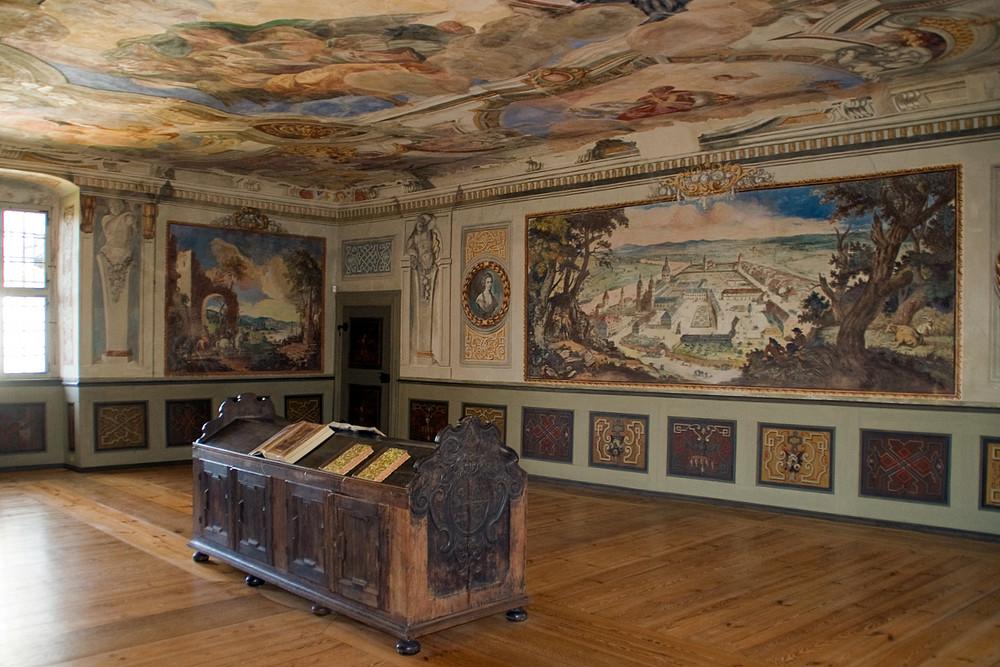 Im Kloster Seligenstadt