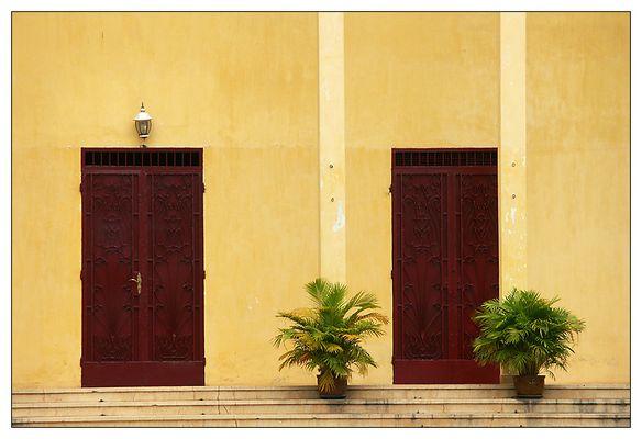 Im Königspalast - Phnom Penh, Kambodscha