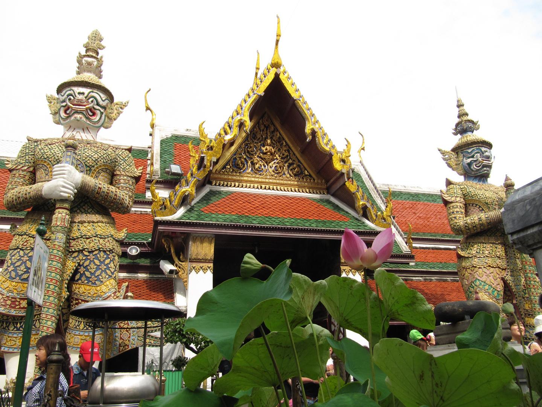 Im Königspalast Wat Phra Kaeo