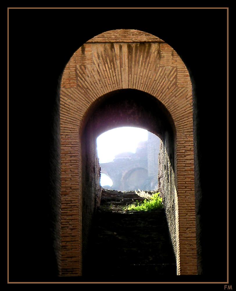 im Kolosseum von Rom