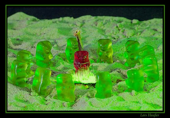 Im Land der grünen Gummibären...