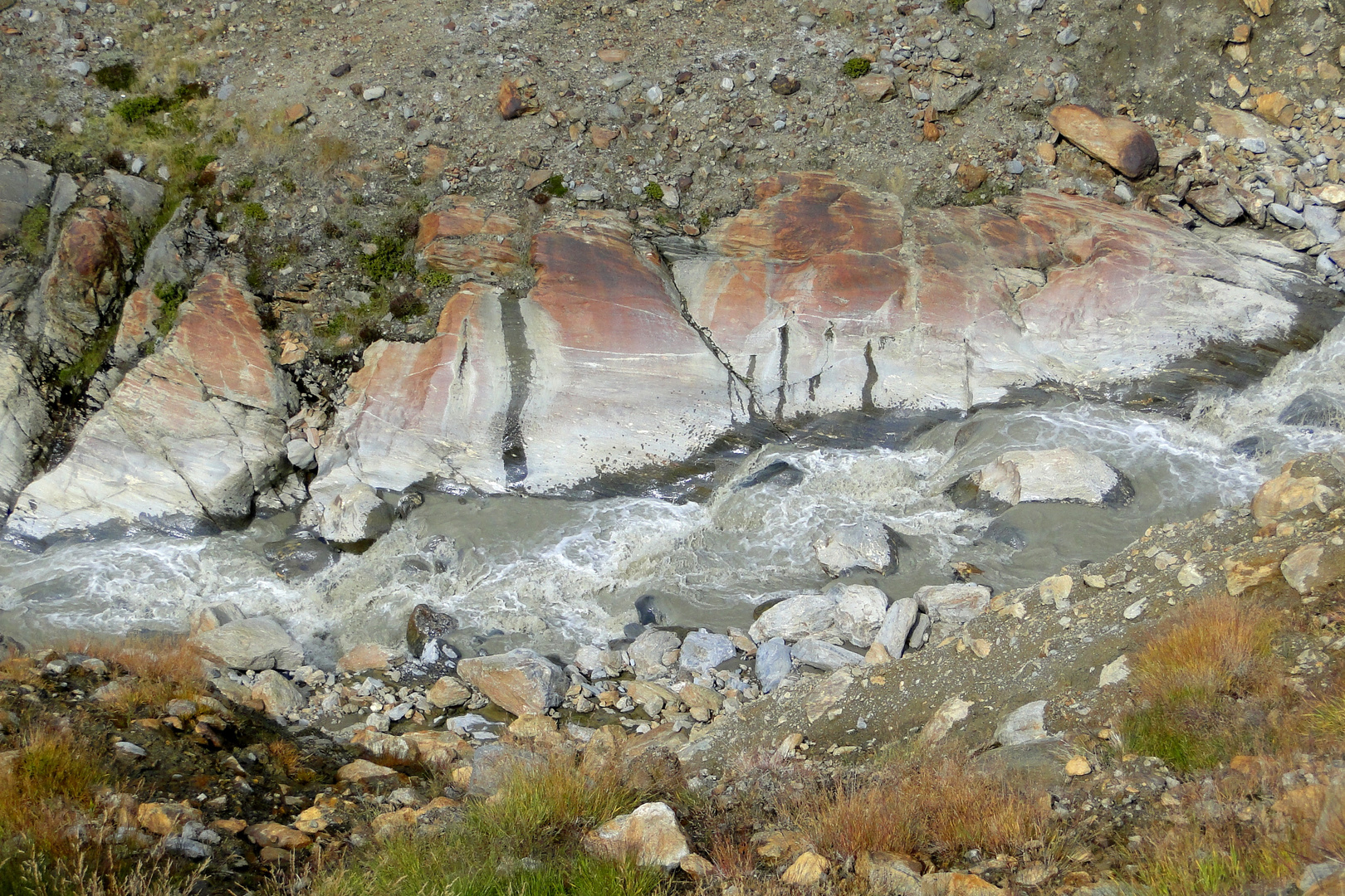 Im Langtauferer Tal - Gletscherbach