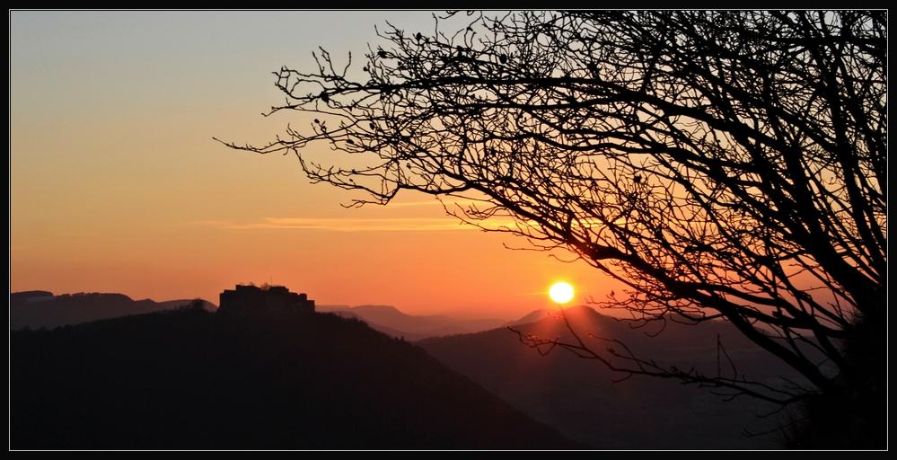 ... im letzten Sonnenlicht ...