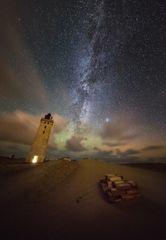 Im Leuchtturm brennt noch Licht