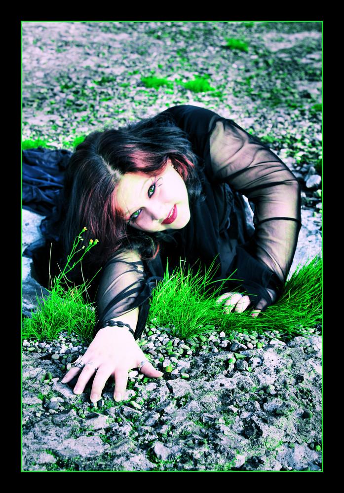 Im Loch stecken geblieben... Shoot with Kalli 2..