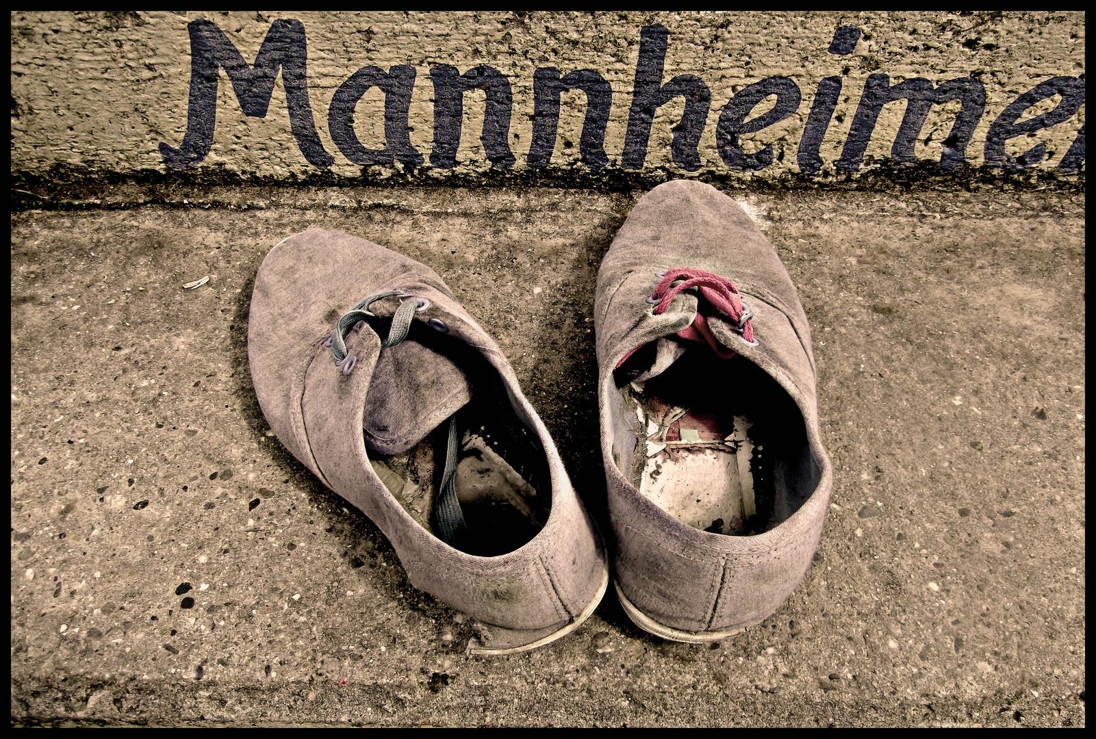 Im Mannheim braucht man gutes Schuhwerk