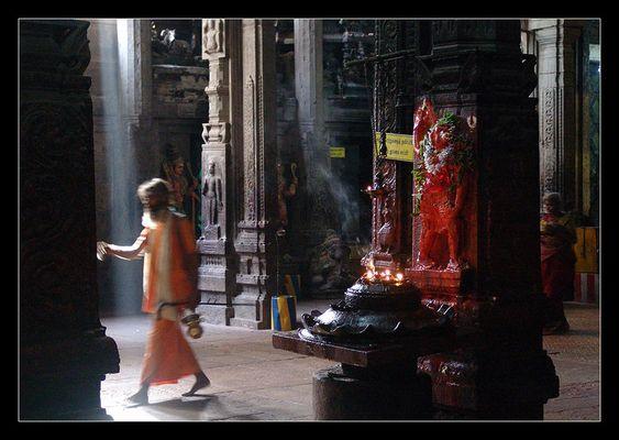 Im Meenakshi Tempel