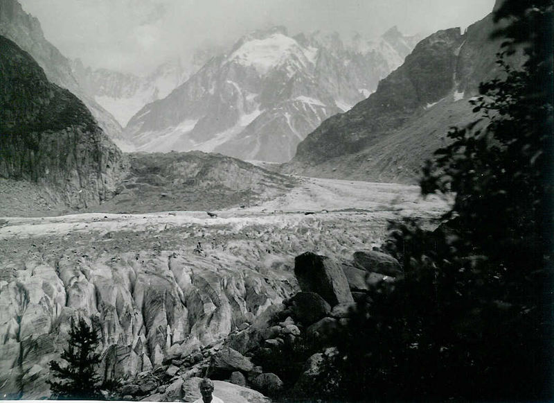 Im Mont Blanc Massiv