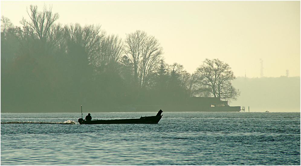Im Morgennebel an der Havel