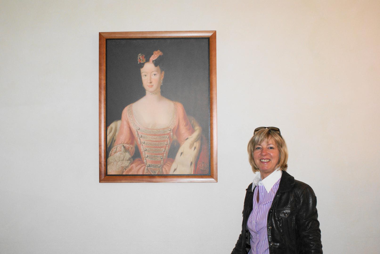 im Museum in Bayreuth