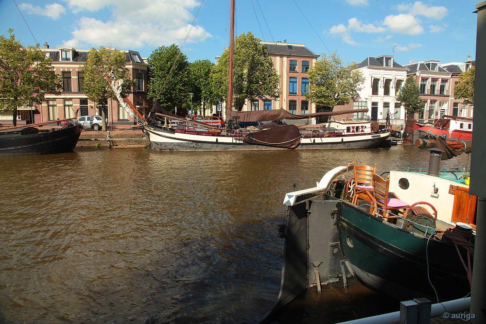 Im Museumshafen von Leeuwarden