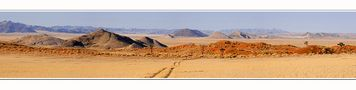 Im Namibrand de Dionys Moser