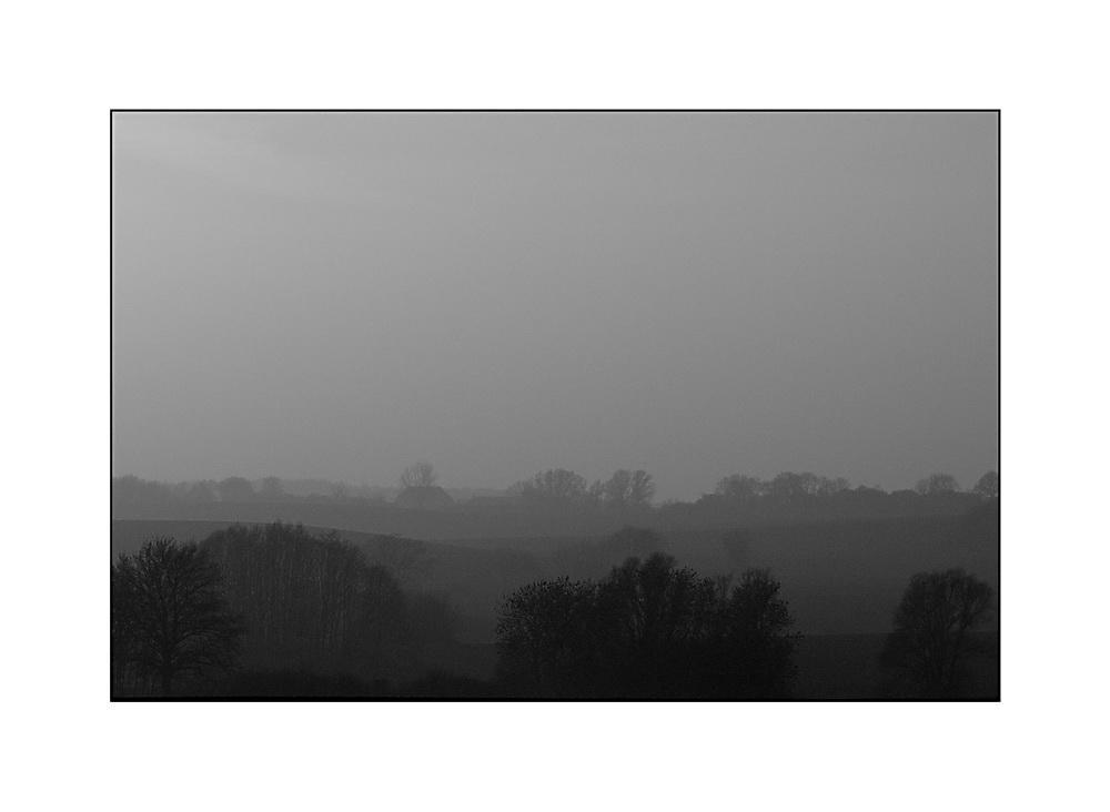 im Nebel....