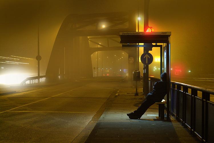 Im Nebel entdeckt
