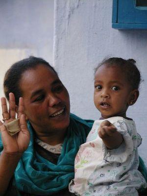 Im nubischen Dorf ......