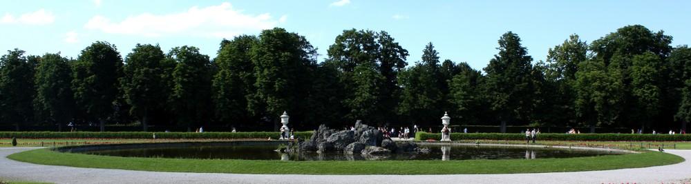 Im Nymphenburger Schlossgarten