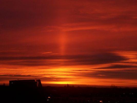 Im Osten geht die Sonne auf...