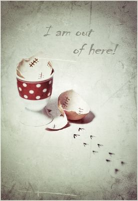 I´m out of here - happy easter!