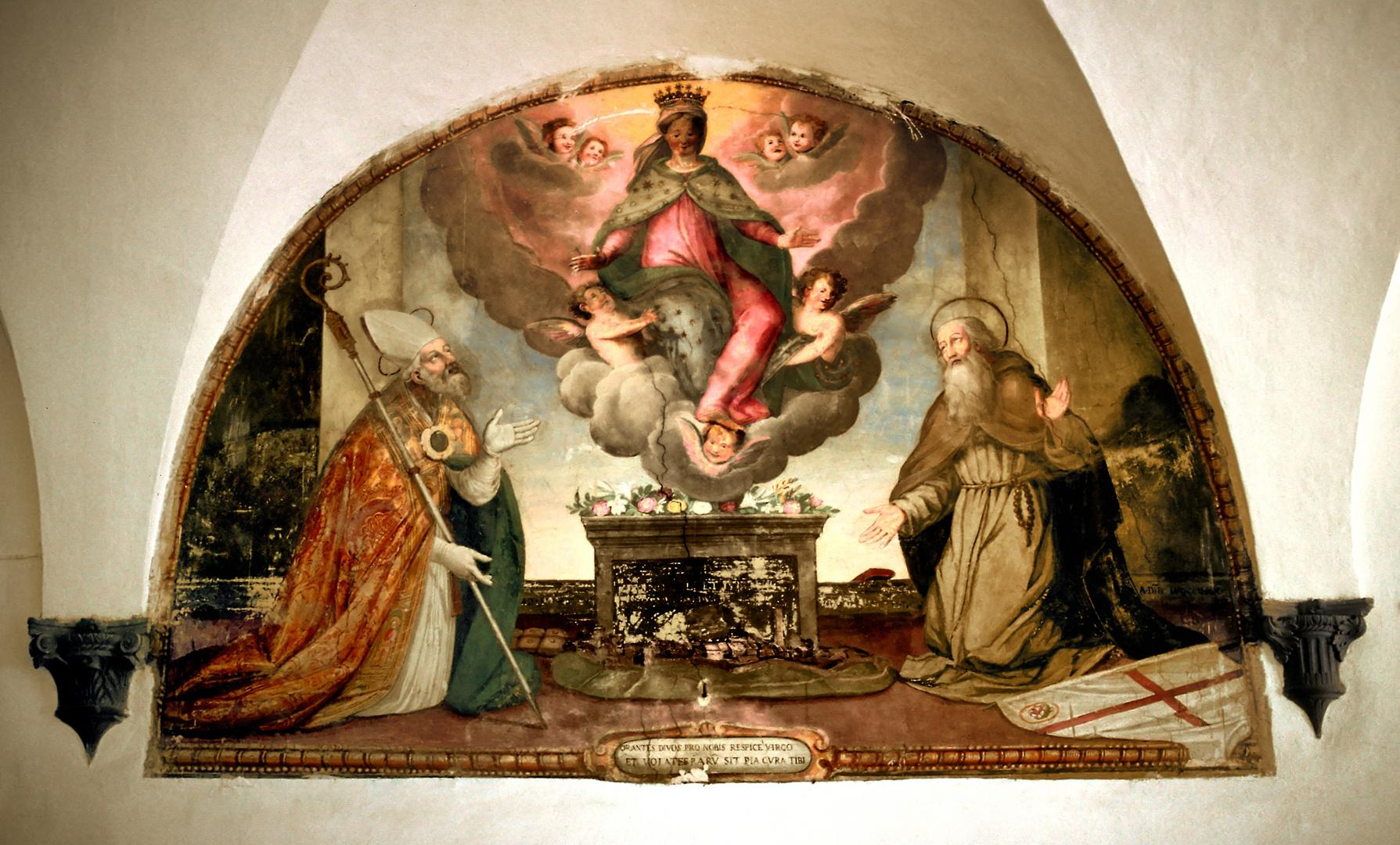 Im Palazzo Priori Volterra