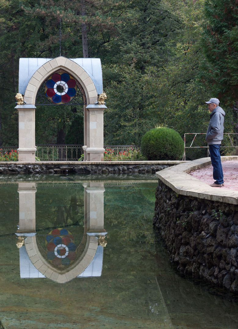 im Park von Kislovodsk