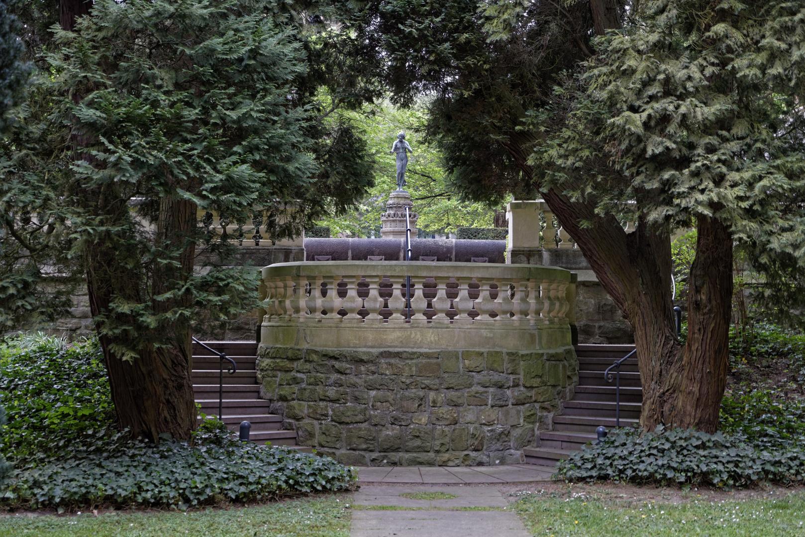 Im Park von Schloss Landsberg