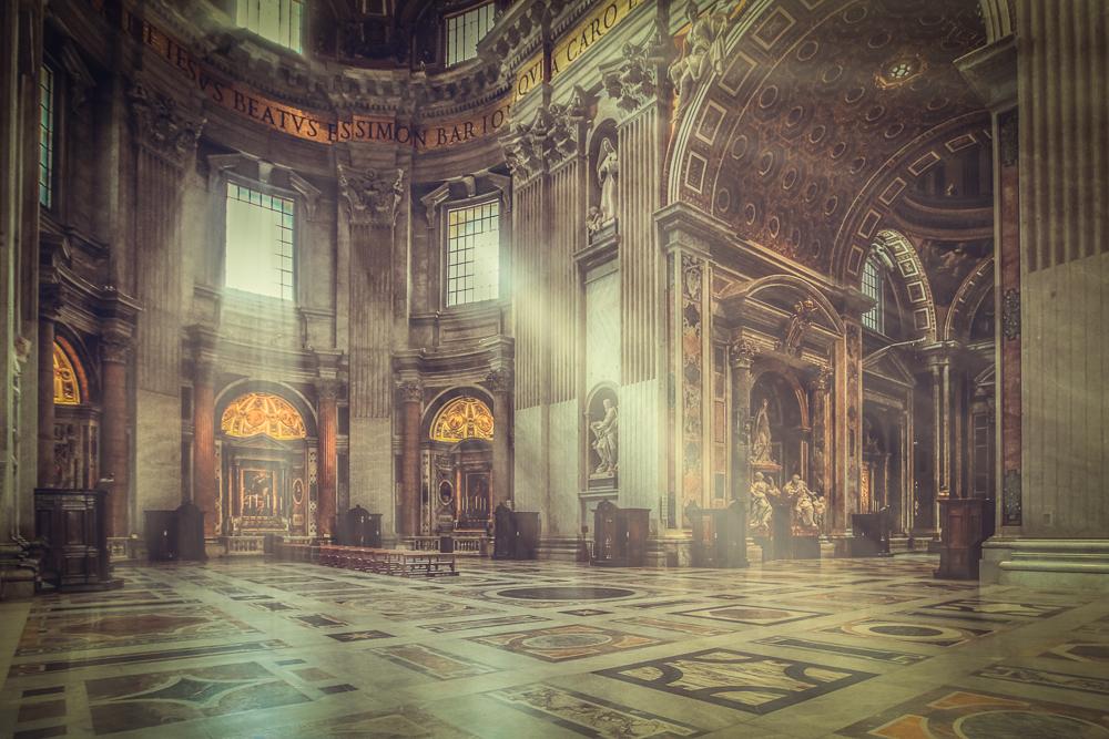 Im Petersdom