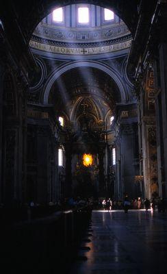 im Petersdom, Vaticanstadt