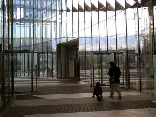 Im Posttower in Bonn