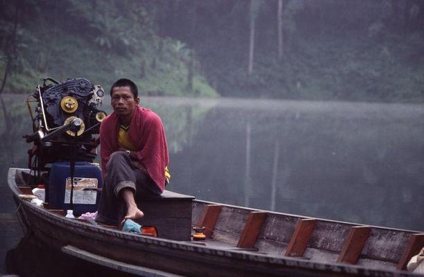 """Im """"Regenwald"""" von Khao Sok"""