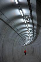 Im Rettungstunnel