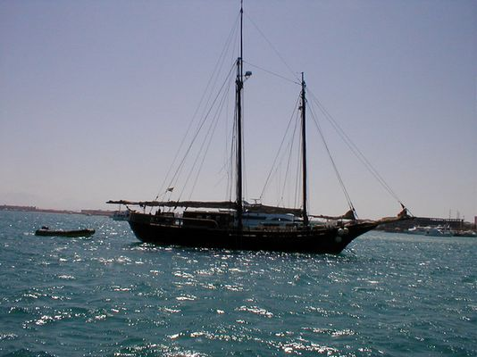 Im Roten Meer vor Anker