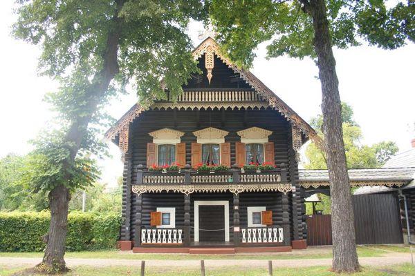 Im russischen Dorf in Potsdam