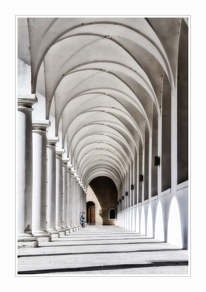 Im Säulengang