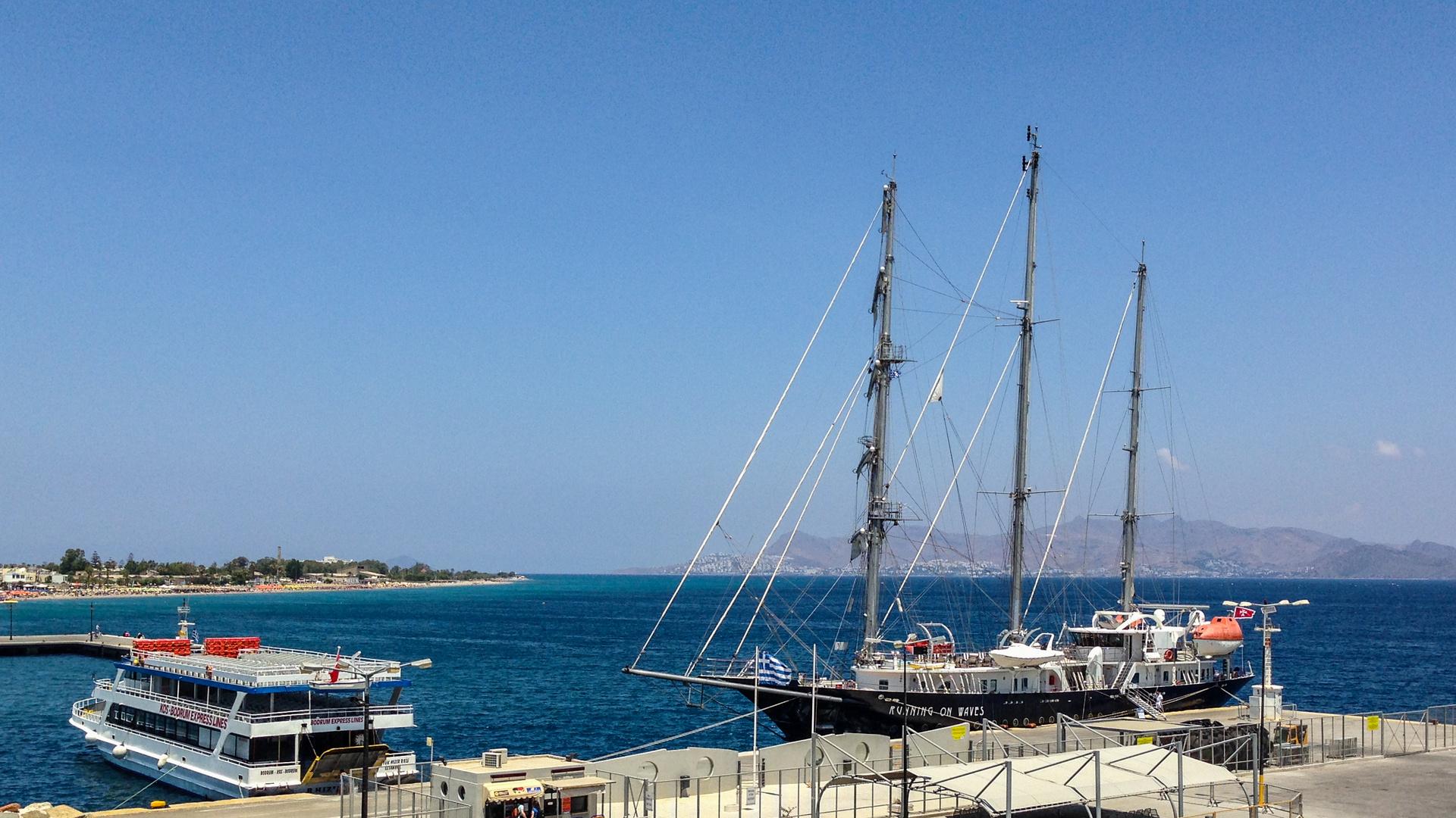 I'm sailing.......