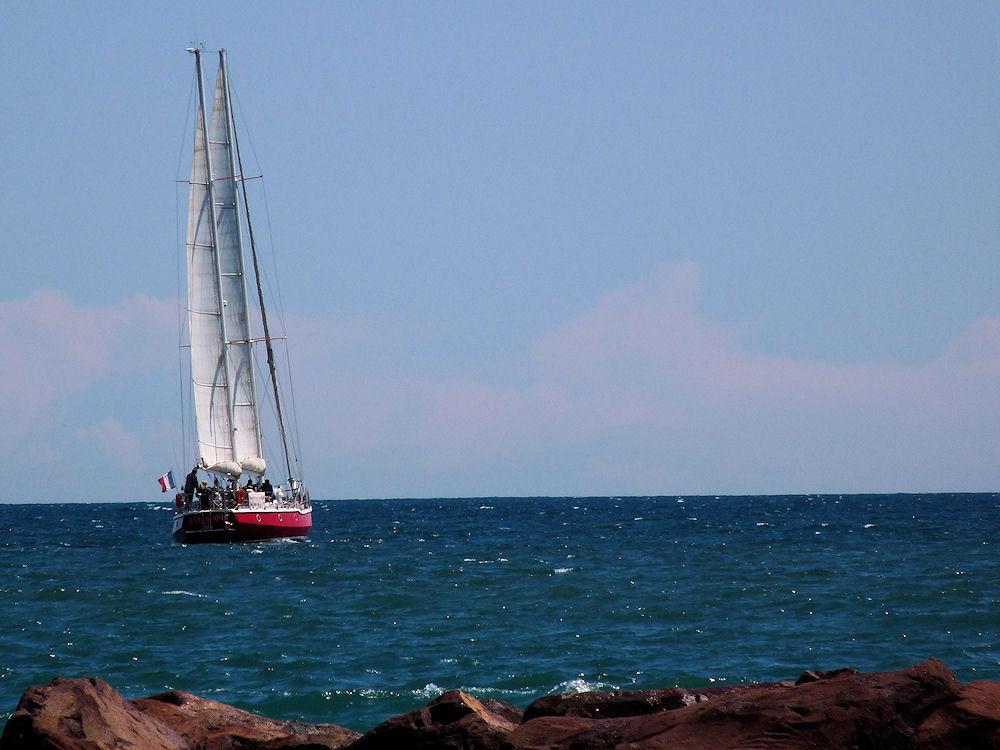 i'm sailing...