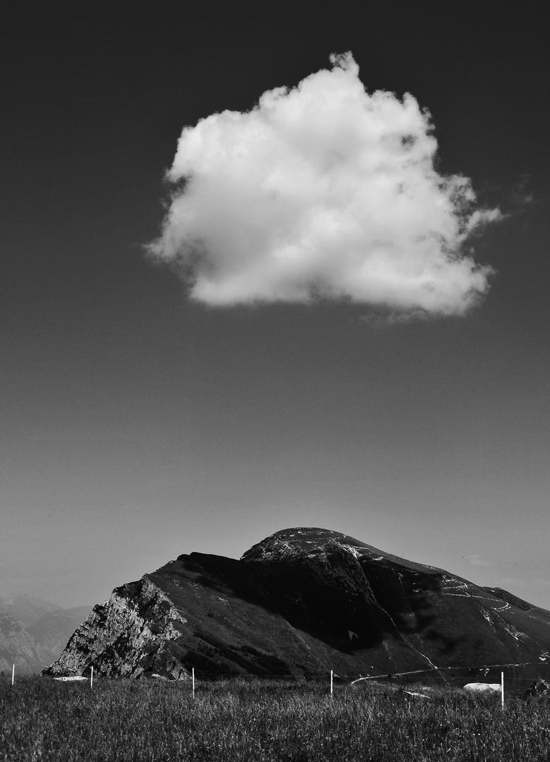 Im Schatten der Wolke