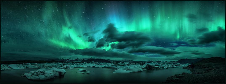 im Schein des Nordlichts