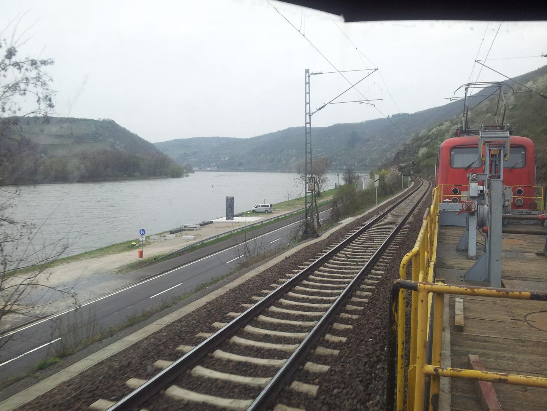 Im Schlepp durchs Rheintal